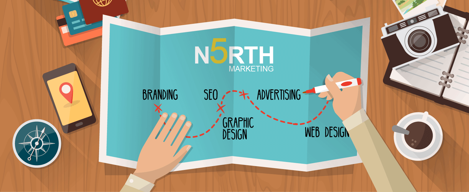 5 north marketing